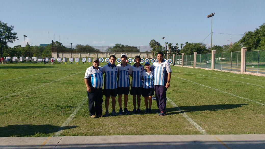 Cabrera, De Mattia y el equipo juvenil: Aranda Tisocco Jajarabilla Carabone