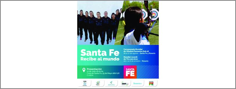 Santa Fe Recibe al Mundo