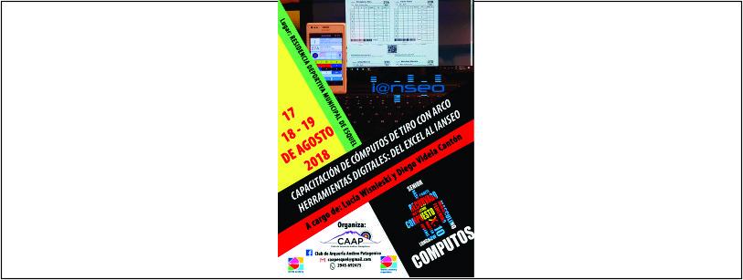 Curso Capacitación IANSEO 17, 18 y 19/08