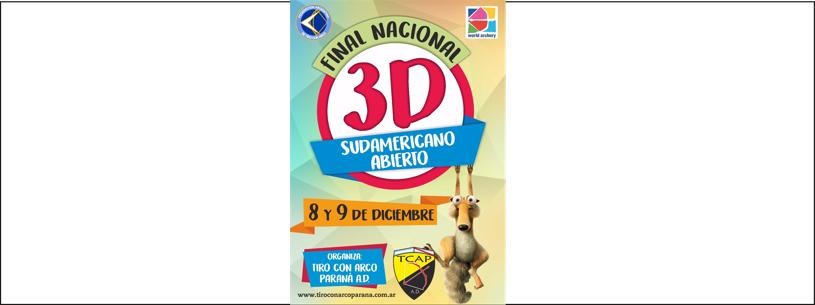 Final Nacional 3D - 8 y 9/12/18