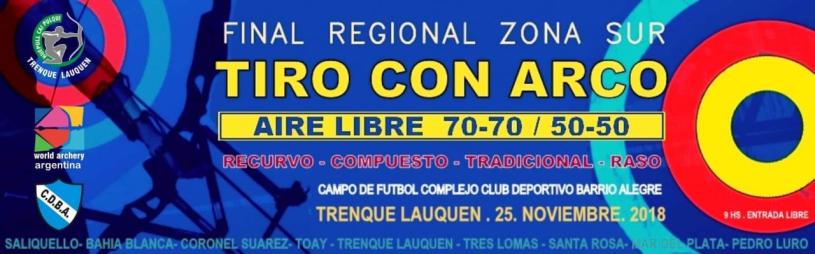 Final Regional Aire Libre - Sur - 25/11
