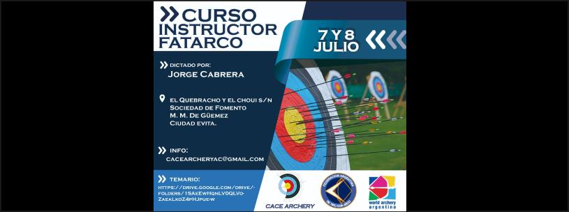 07 y 08/07 - Curso Instructor FATARCO
