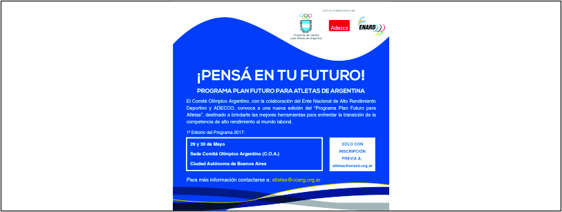 Programa Plan Futuro para Atletas de Argentina