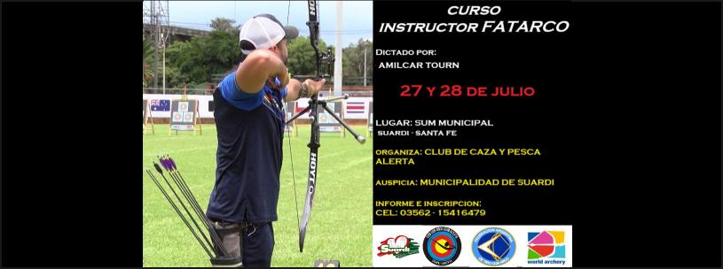 27 y 28/07 - Curso Instructor FATARCO