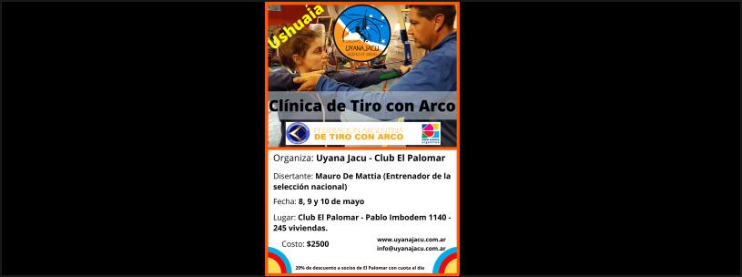 8, 9 y 10/05 - Clínica de Tiro con Arco